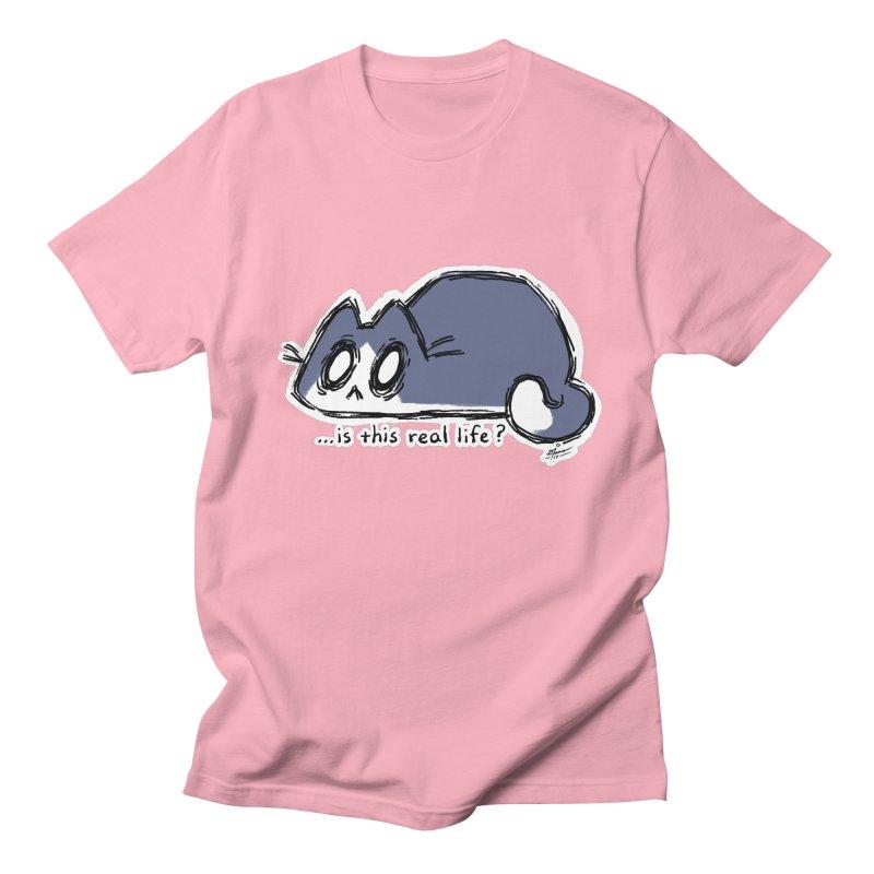 Under PURRRessure Men's T-shirt by dianasprinkle's Artist Shop