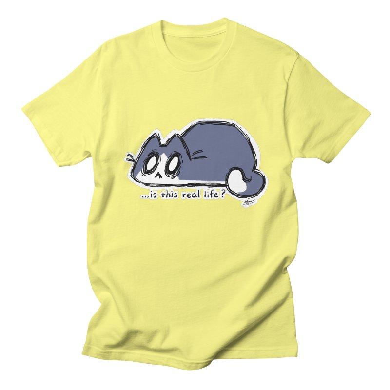 Under PURRRessure Women's Unisex T-Shirt by dianasprinkle's Artist Shop