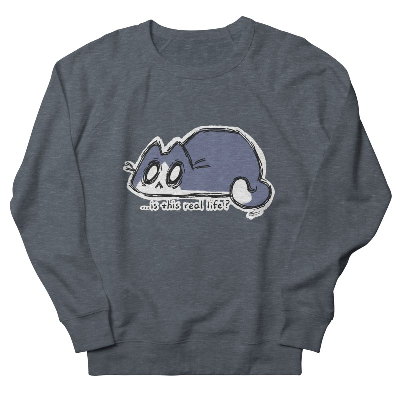 Under PURRRessure Women's Sweatshirt by dianasprinkle's Artist Shop