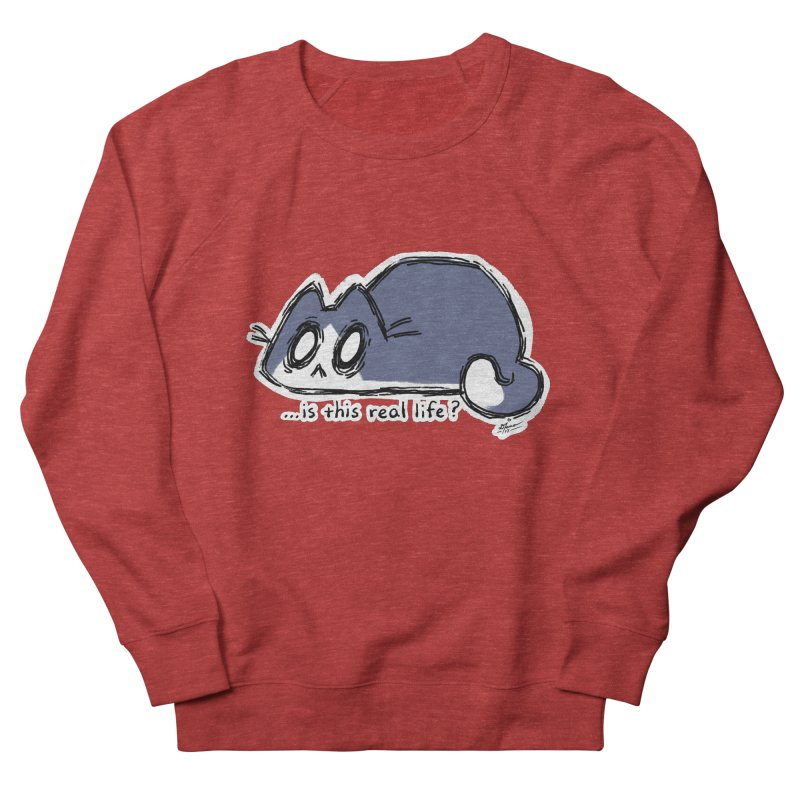 Under PURRRessure Men's Sweatshirt by dianasprinkle's Artist Shop
