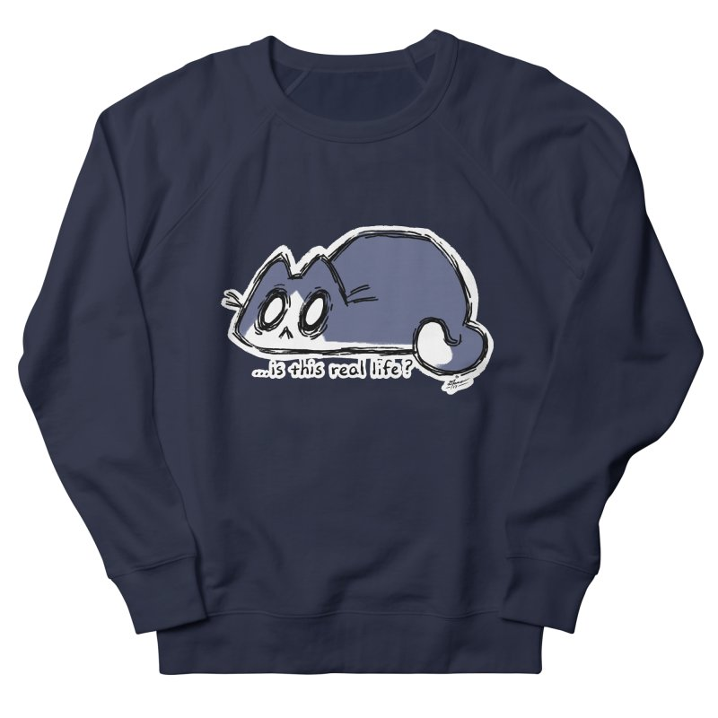 Under PURRRessure Men's Sweatshirt by dianasprinkle's Artist Shop