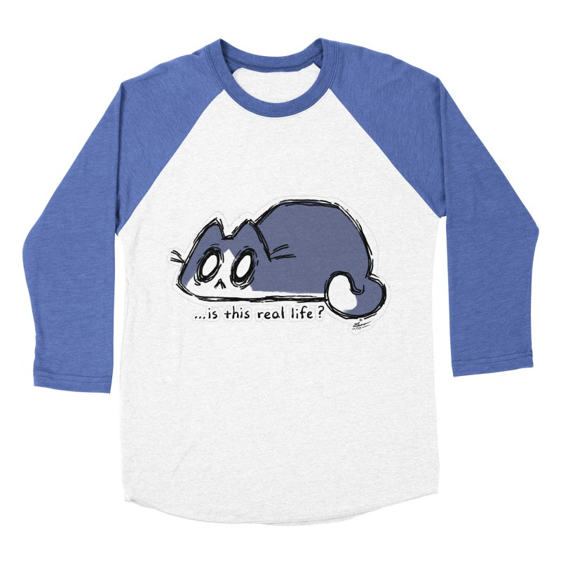 Under PURRRessure Women's Baseball Triblend T-Shirt by dianasprinkle's Artist Shop