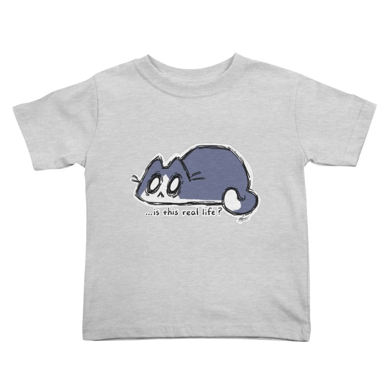 Under PURRRessure Kids Toddler T-Shirt by dianasprinkle's Artist Shop