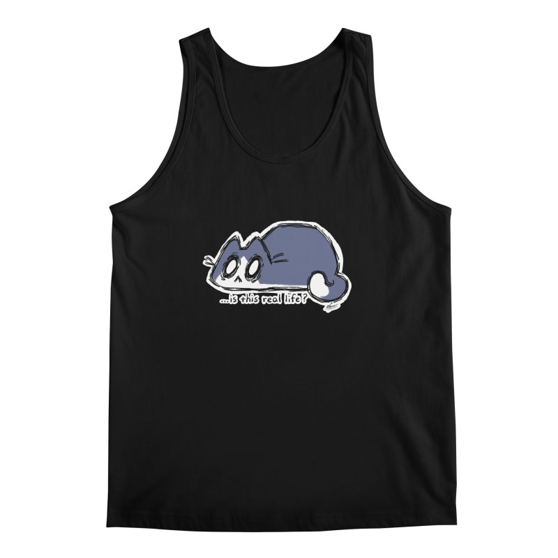 Under PURRRessure Men's Tank by dianasprinkle's Artist Shop