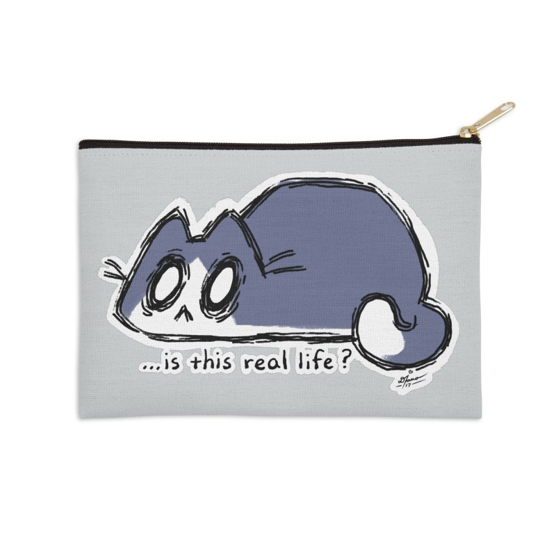 Under PURRRessure Accessories Zip Pouch by dianasprinkle's Artist Shop