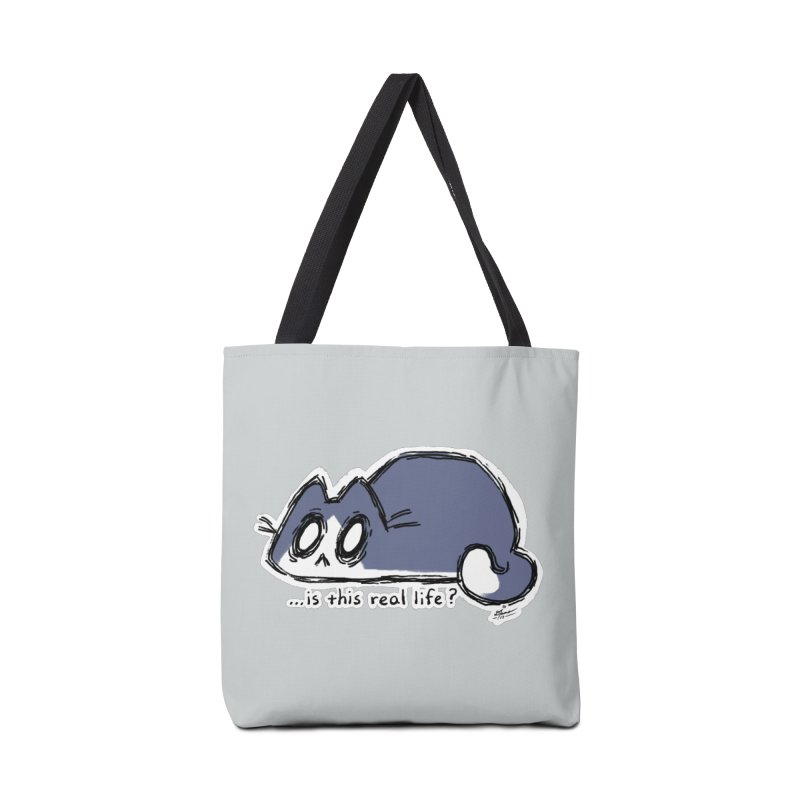 Under PURRRessure Accessories Bag by dianasprinkle's Artist Shop