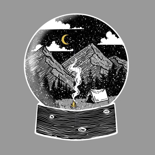 Design for Snowy Mountain Globe