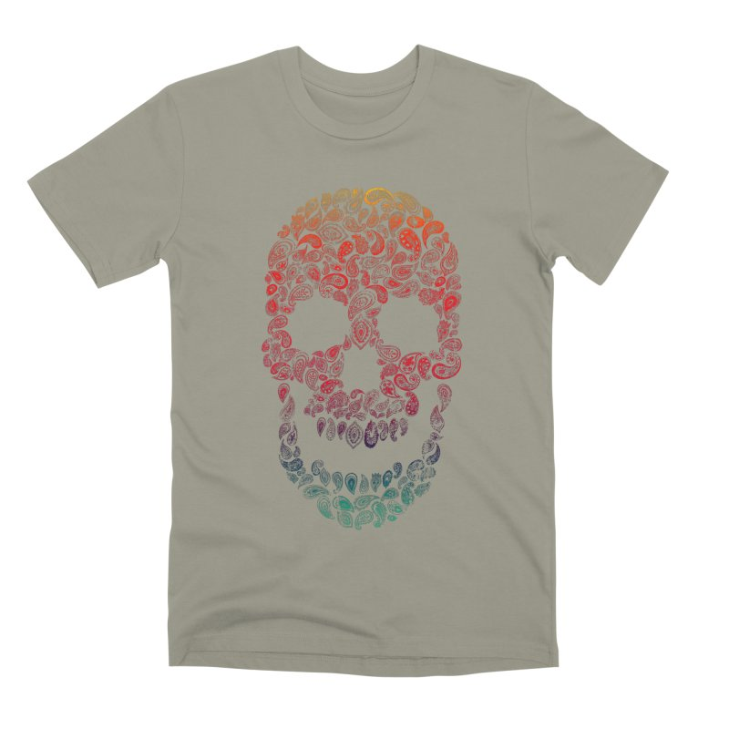 Death By Paisley Men's Premium T-Shirt by Dianne Delahunty's Artist Shop