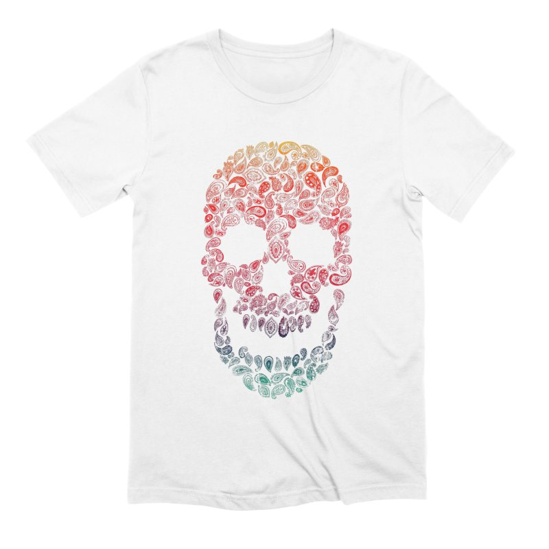 Death By Paisley Men's Extra Soft T-Shirt by Dianne Delahunty's Artist Shop