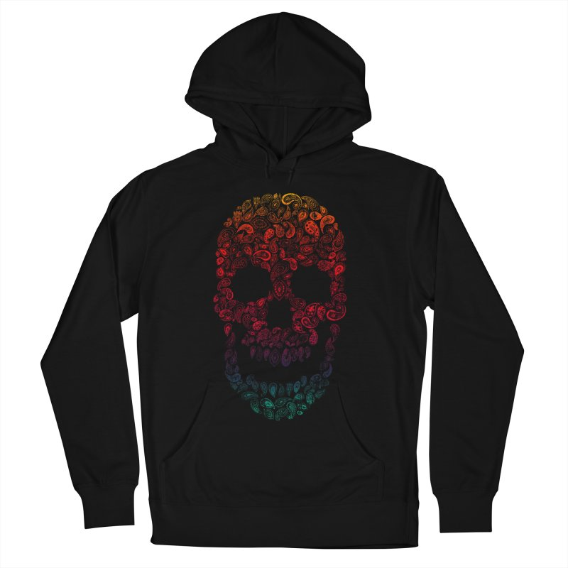 Death By Paisley Men's Pullover Hoody by Dianne Delahunty's Artist Shop