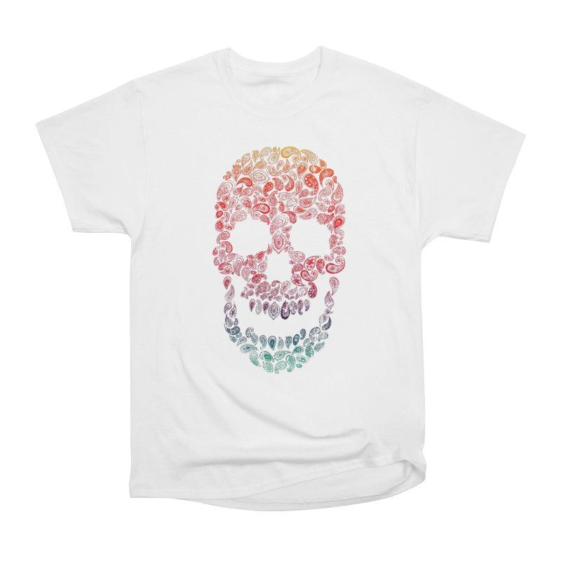Death By Paisley Men's Heavyweight T-Shirt by Dianne Delahunty's Artist Shop