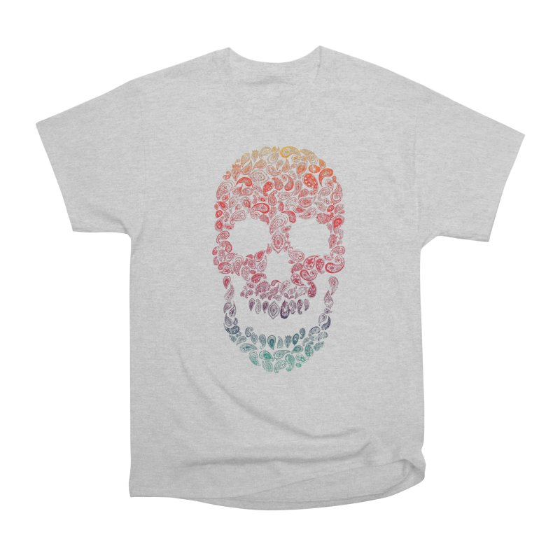 Death By Paisley Men's Heavyweight T-Shirt by Dianne Delahunty's Artist Shop