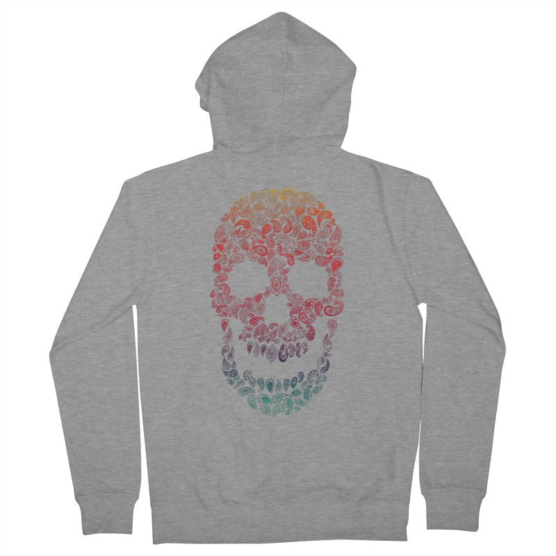 Death By Paisley Women's Zip-Up Hoody by Dianne Delahunty's Artist Shop
