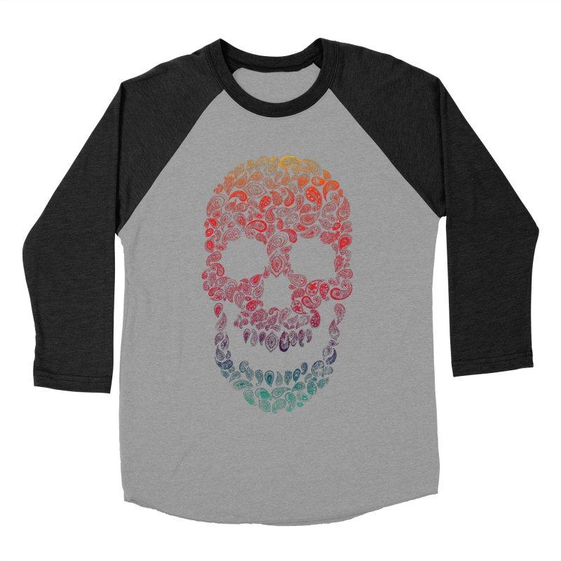 Death By Paisley Women's Baseball Triblend T-Shirt by Dianne Delahunty's Artist Shop