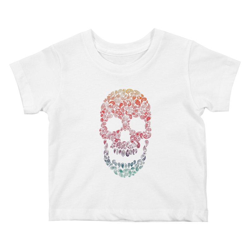 Death By Paisley Kids Baby T-Shirt by Dianne Delahunty's Artist Shop