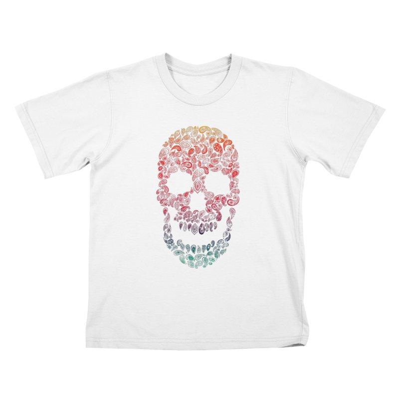 Death By Paisley Kids T-shirt by Dianne Delahunty's Artist Shop