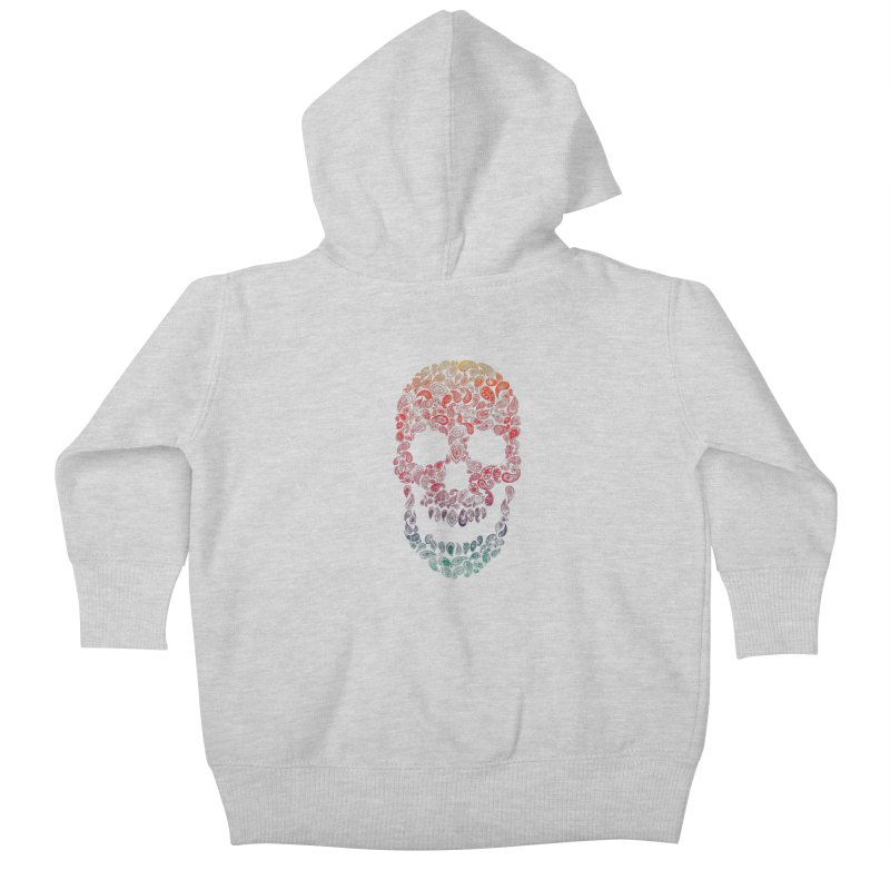 Death By Paisley Kids Baby Zip-Up Hoody by Dianne Delahunty's Artist Shop
