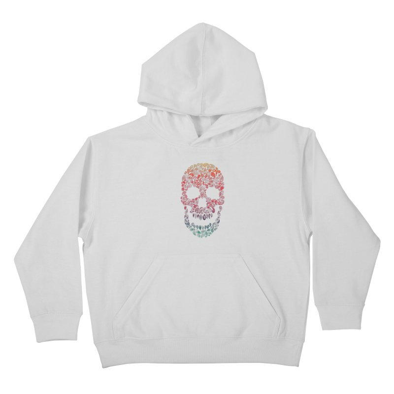 Death By Paisley Kids Pullover Hoody by Dianne Delahunty's Artist Shop