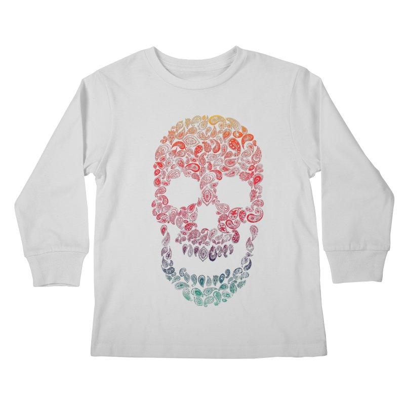 Death By Paisley Kids Longsleeve T-Shirt by Dianne Delahunty's Artist Shop