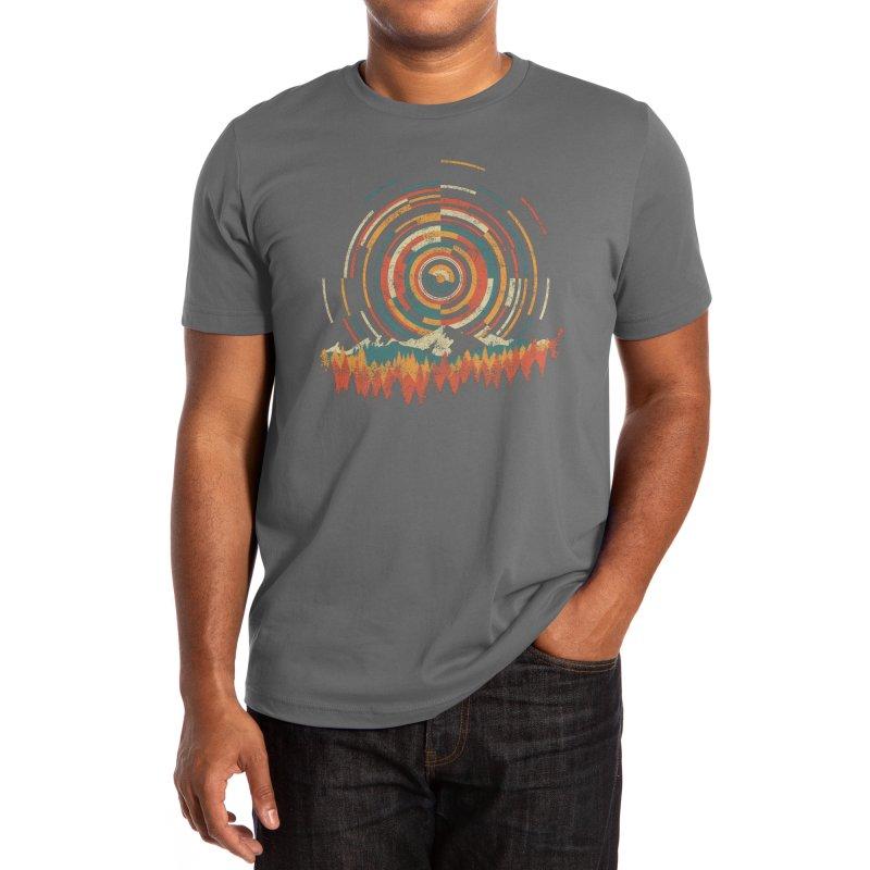 Geometry of Sunrise Men's T-Shirt by Dianne Delahunty aka digsy