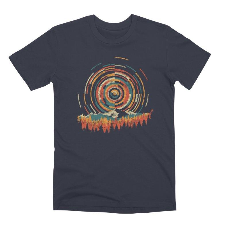 Geometry of Sunrise Men's Premium T-Shirt by Dianne Delahunty's Artist Shop