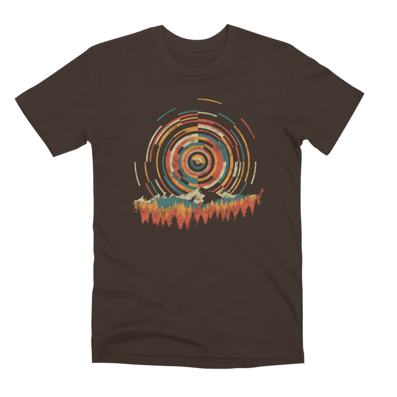 Geometry of Sunrise Men's Premium T-Shirt by Dianne Delahunty's Artist Shop