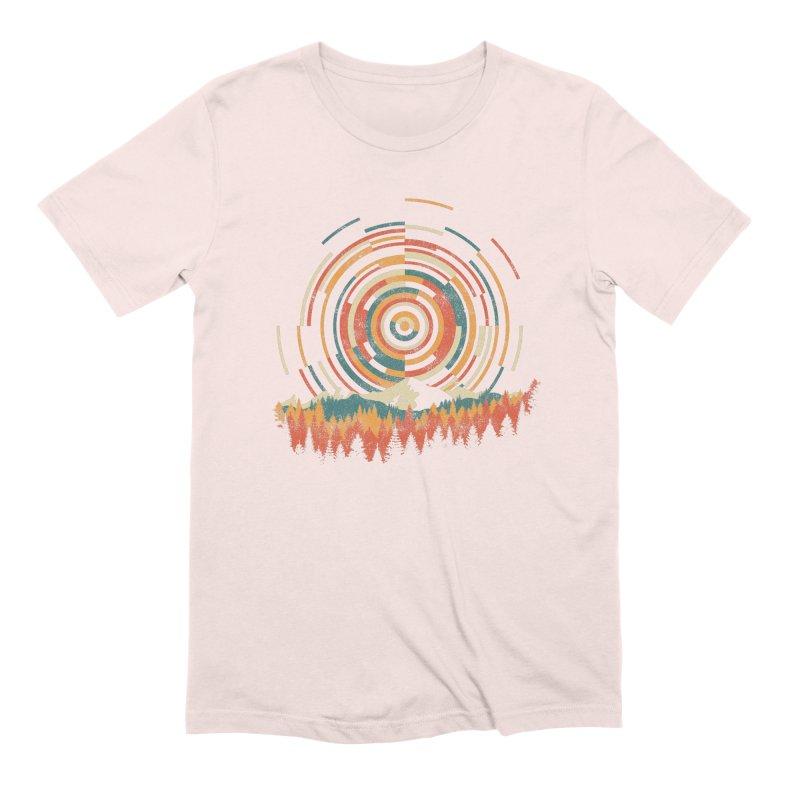 Geometry of Sunrise Men's Extra Soft T-Shirt by Dianne Delahunty's Artist Shop