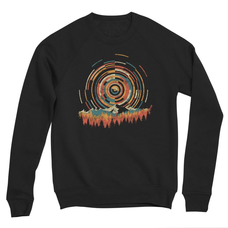 Geometry of Sunrise Men's Sponge Fleece Sweatshirt by Dianne Delahunty's Artist Shop