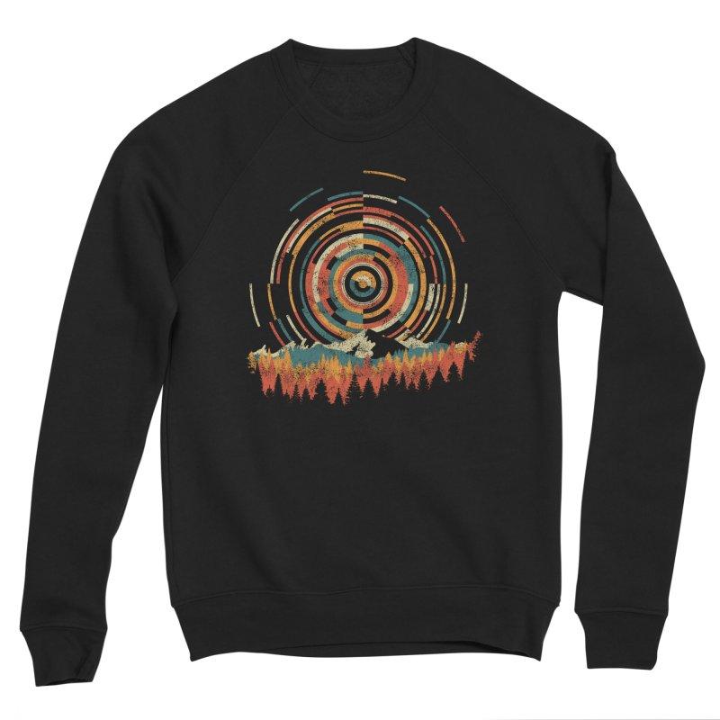 Geometry of Sunrise Women's Sponge Fleece Sweatshirt by Dianne Delahunty's Artist Shop