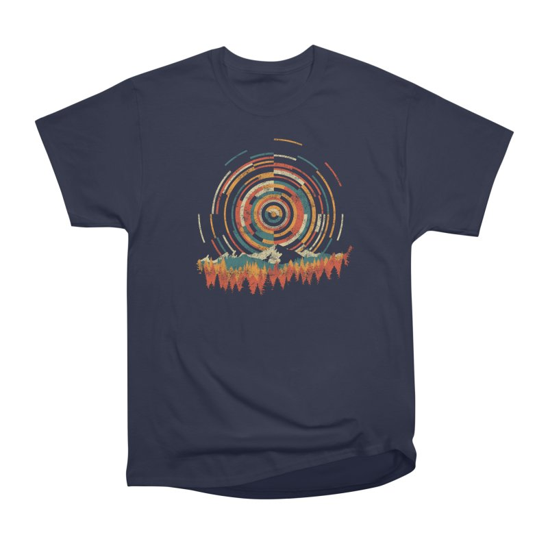 Geometry of Sunrise Women's Heavyweight Unisex T-Shirt by Dianne Delahunty's Artist Shop