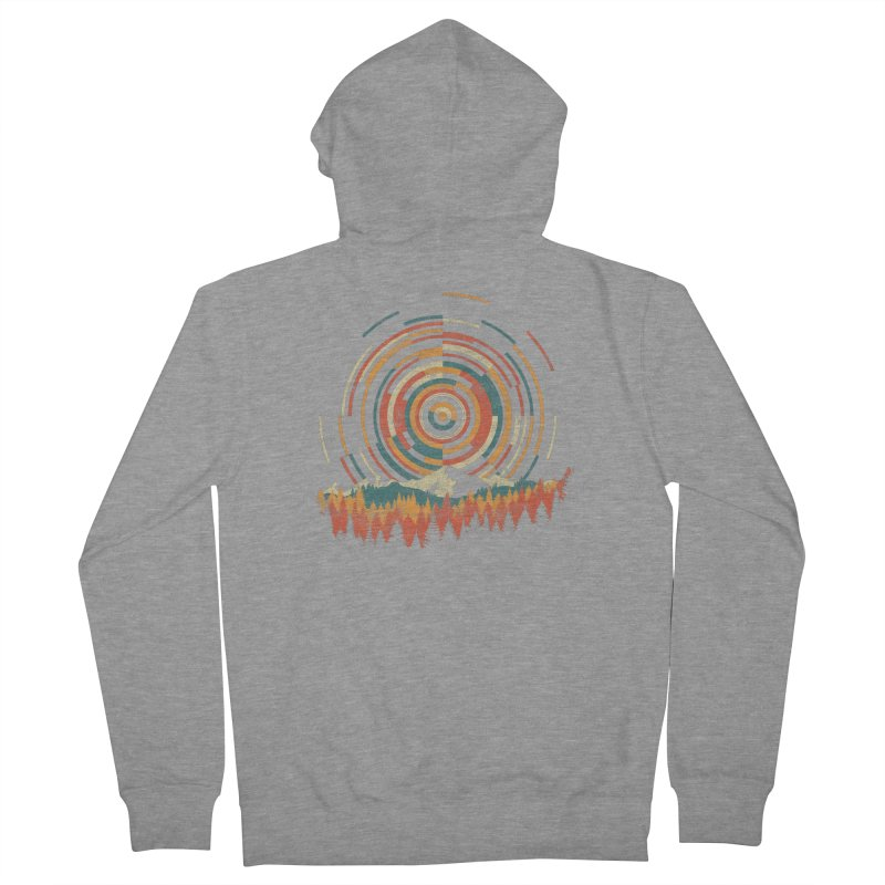 Geometry of Sunrise Women's Zip-Up Hoody by Dianne Delahunty's Artist Shop