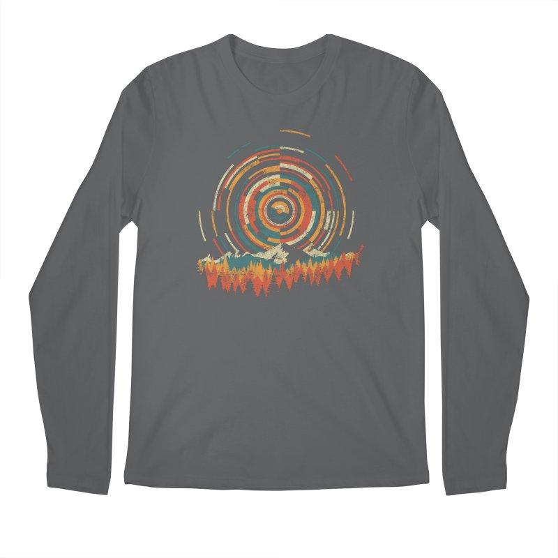 Geometry of Sunrise Men's Regular Longsleeve T-Shirt by Dianne Delahunty's Artist Shop