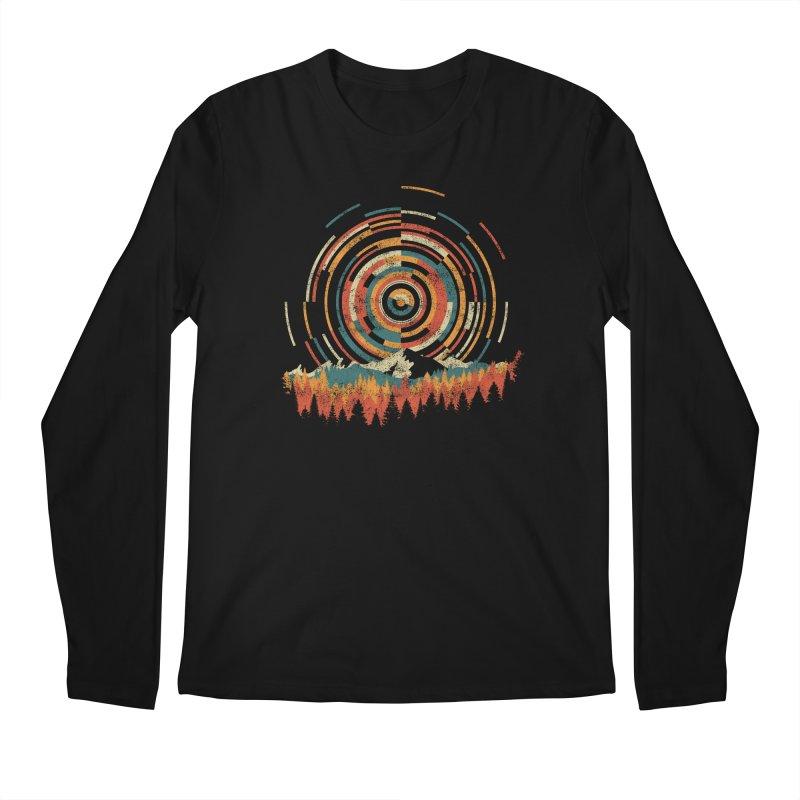 Geometry of Sunrise Men's Longsleeve T-Shirt by Dianne Delahunty's Artist Shop