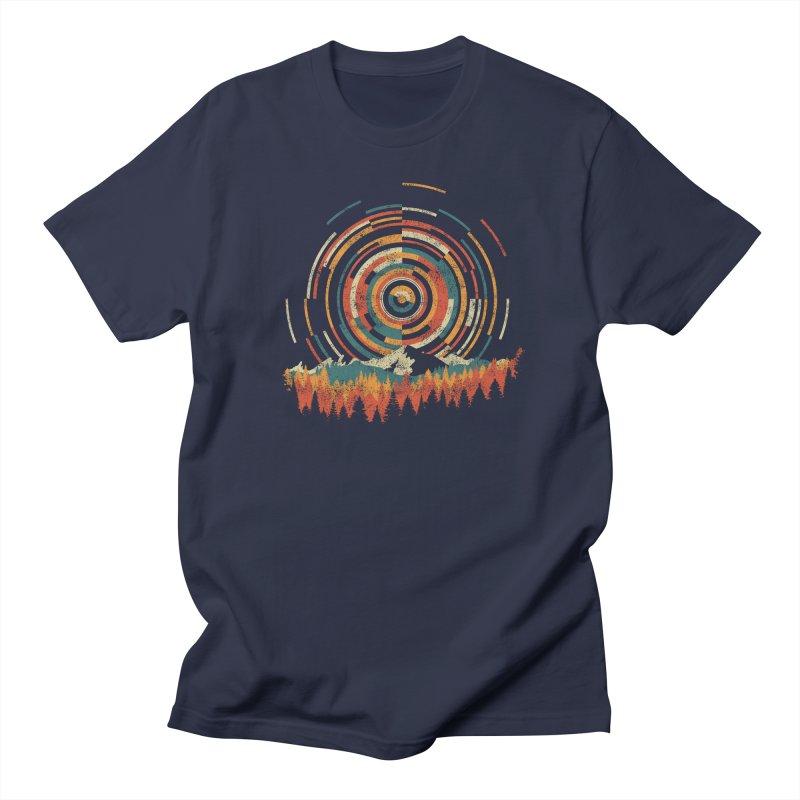 Geometry of Sunrise Women's Regular Unisex T-Shirt by Dianne Delahunty's Artist Shop