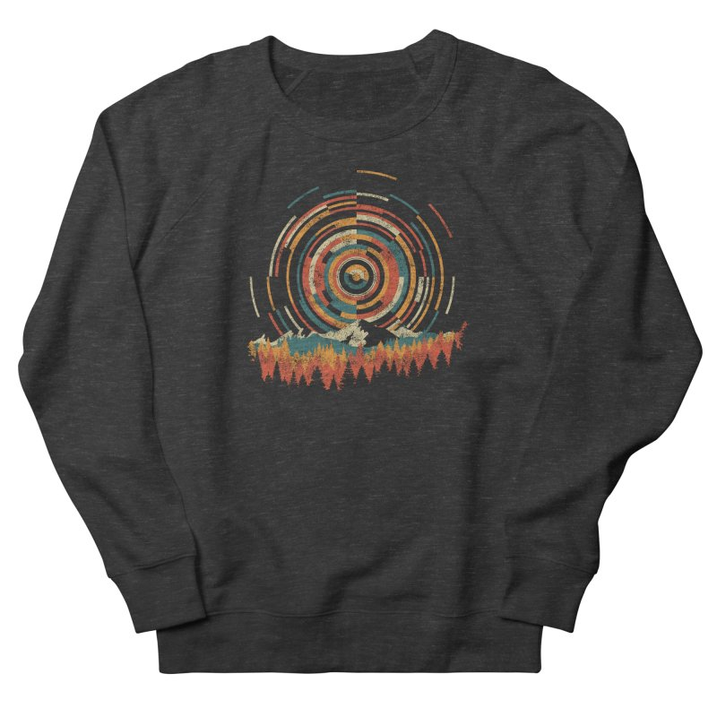 Geometry of Sunrise Women's Sweatshirt by Dianne Delahunty's Artist Shop