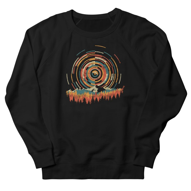 Geometry of Sunrise Women's Sweatshirt by Dianne Delahunty's Artist Shop