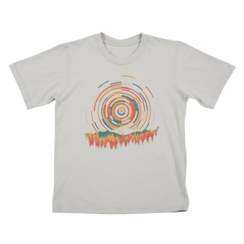 Geometry of Sunrise Kids T-shirt by Dianne Delahunty's Artist Shop