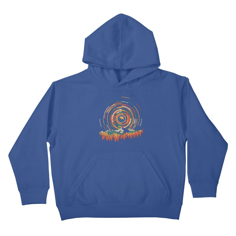 Geometry of Sunrise Kids Pullover Hoody by Dianne Delahunty's Artist Shop
