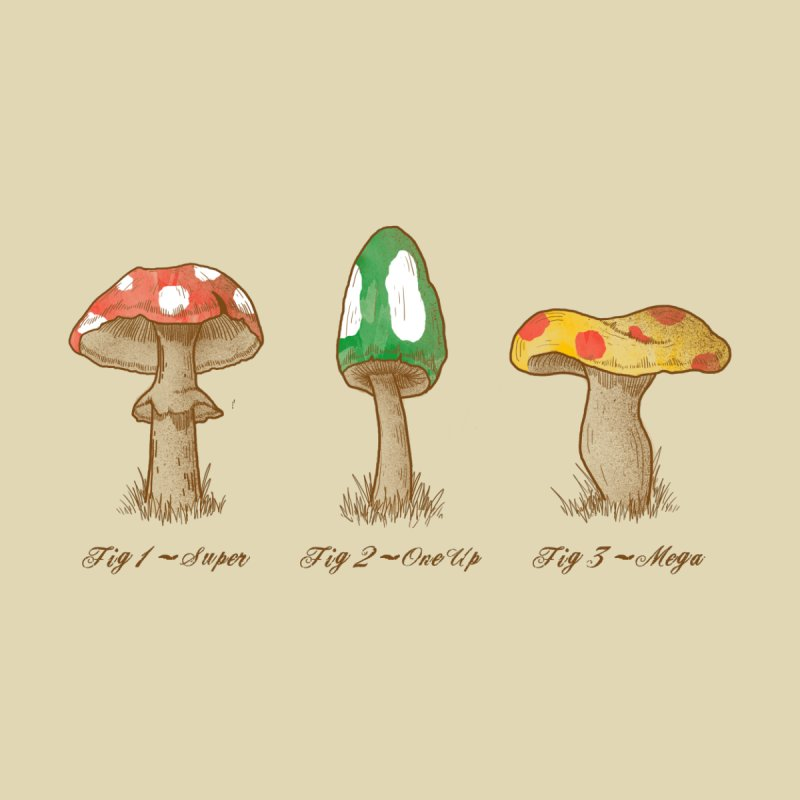 Mario Mycology by Dianne Delahunty's Artist Shop