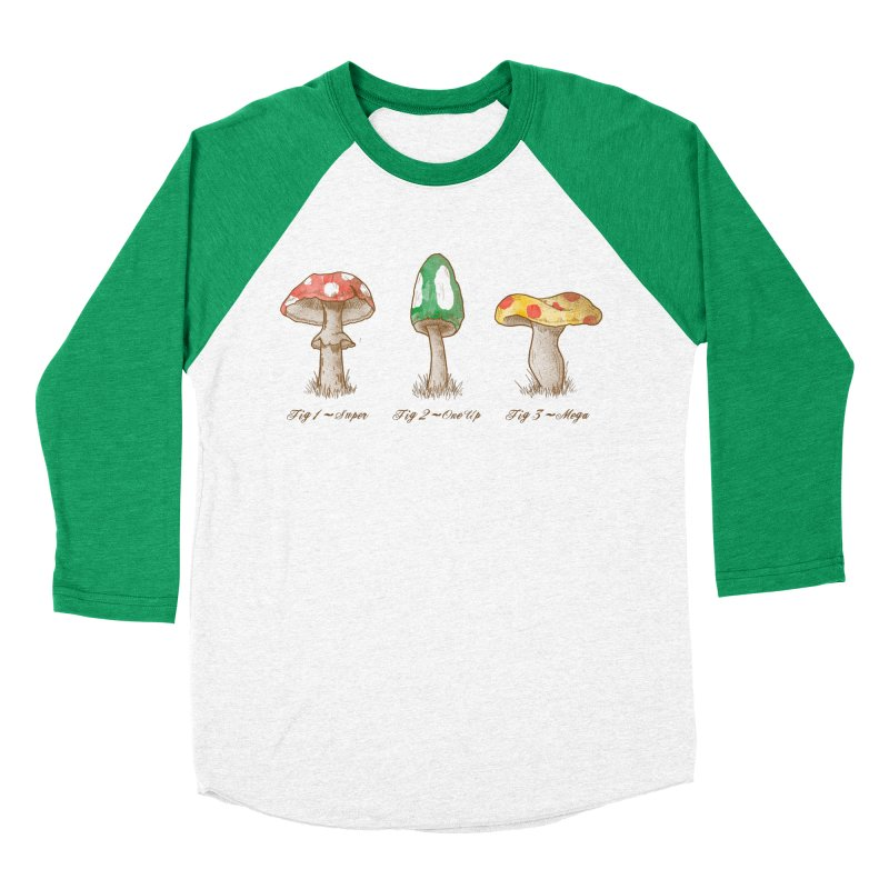 Mario Mycology Men's Longsleeve T-Shirt by Dianne Delahunty's Artist Shop