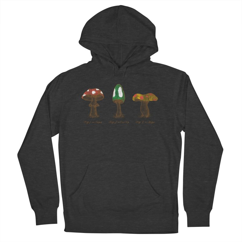 Mario Mycology Women's French Terry Pullover Hoody by Dianne Delahunty's Artist Shop
