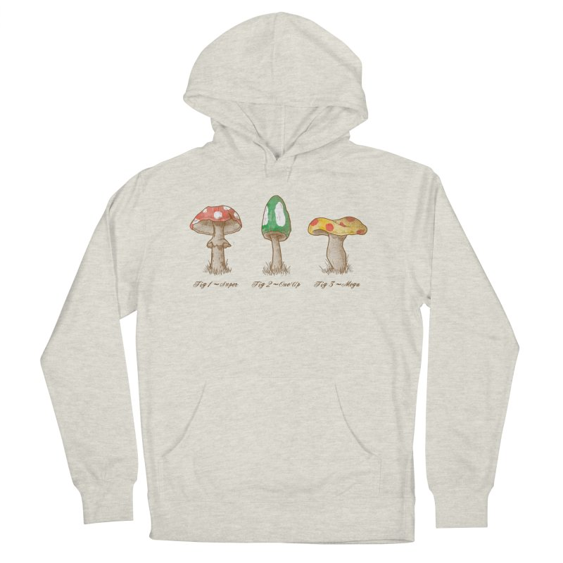 Mario Mycology Men's Pullover Hoody by Dianne Delahunty's Artist Shop