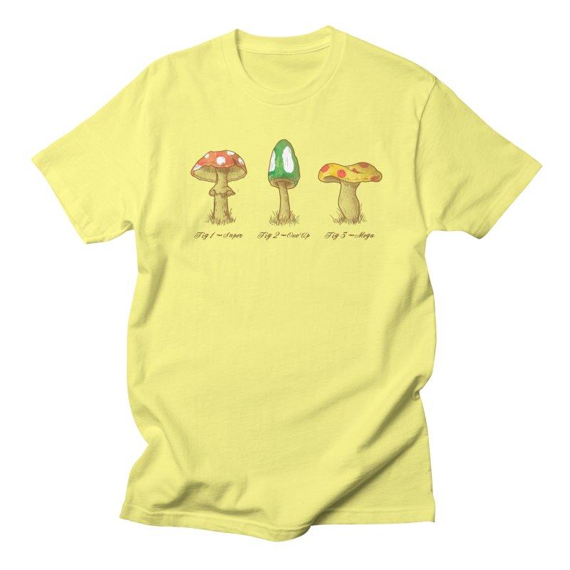 Mario Mycology Men's T-Shirt by Dianne Delahunty's Artist Shop