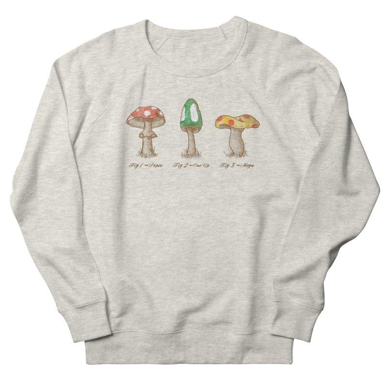 Mario Mycology Women's Sweatshirt by Dianne Delahunty's Artist Shop