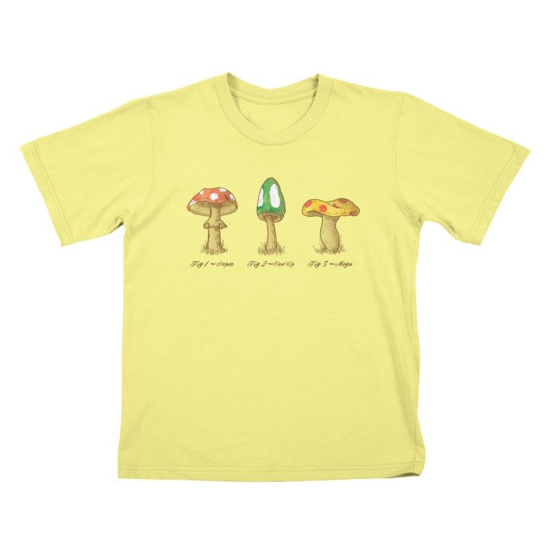 Mario Mythology Kids T-shirt by Dianne Delahunty's Artist Shop