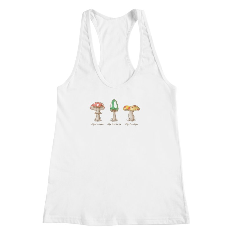 Mario Mythology Women's Racerback Tank by Dianne Delahunty's Artist Shop