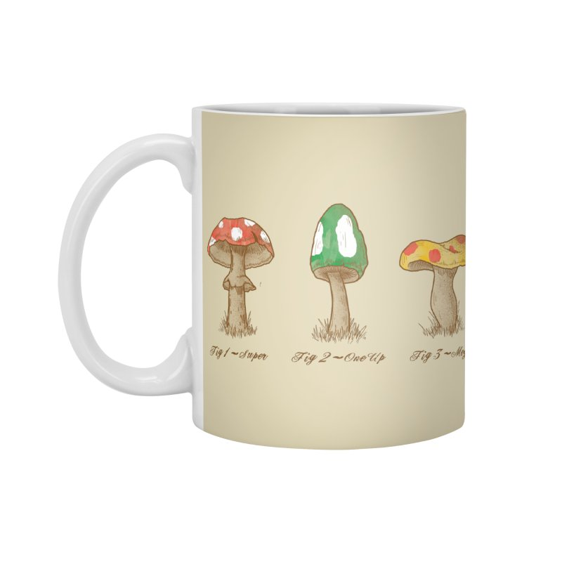 Mario Mycology Accessories Mug by Dianne Delahunty's Artist Shop