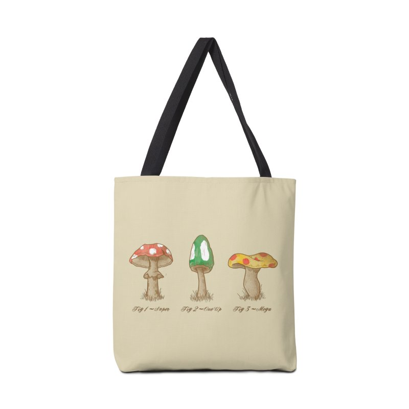 Mario Mycology Accessories Bag by Dianne Delahunty's Artist Shop
