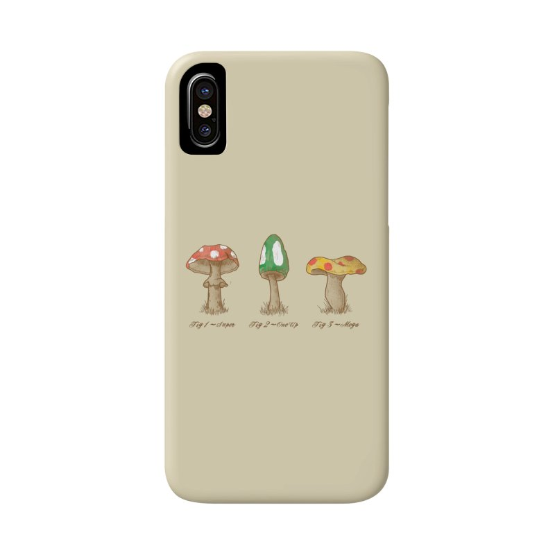 Mario Mycology Accessories Phone Case by Dianne Delahunty's Artist Shop