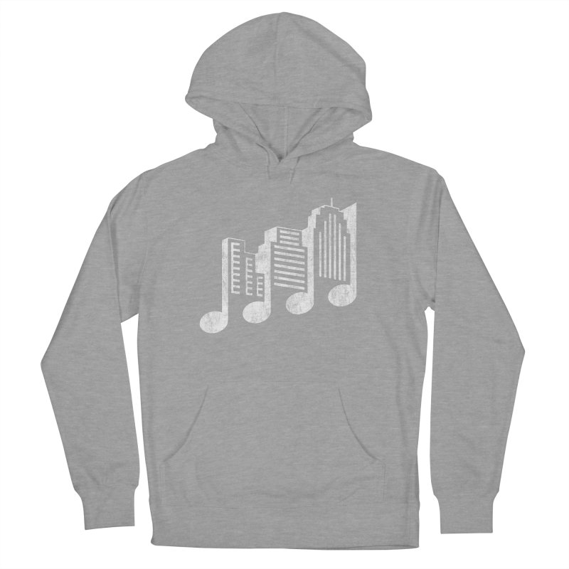 Melodicity Men's French Terry Pullover Hoody by Dianne Delahunty's Artist Shop